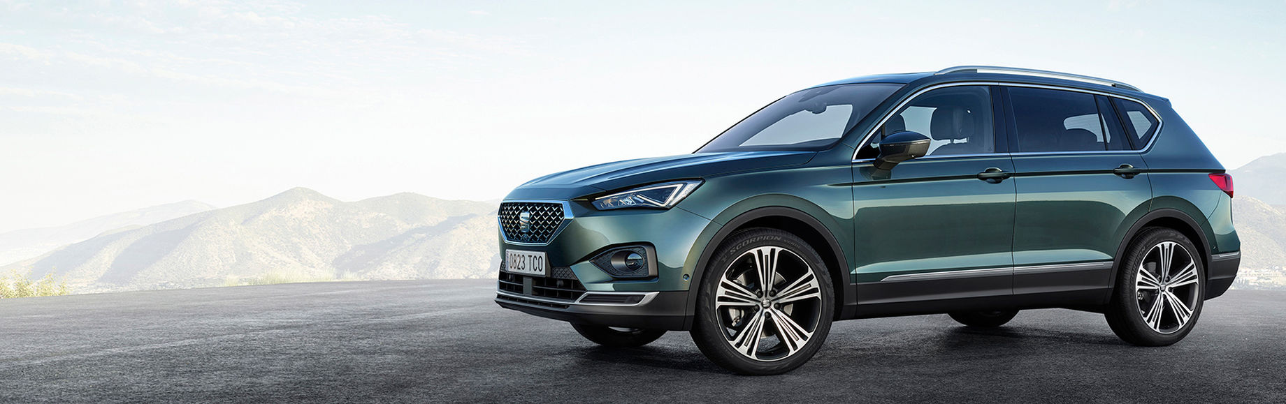 SEAT goes big with the New SEAT Tarraco 001 HD